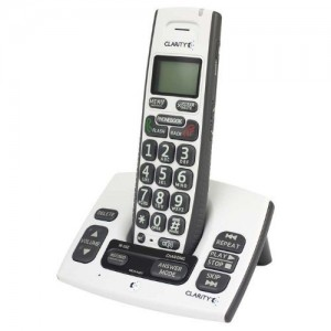 Clarity D613 DECT 6.0 Amplified Cordless Phone w Digital Answering Machine (Amplified Cordless Phone