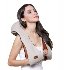 FIVE STAR FS8801 SHIATSU KNEADING NECK SHOULDER BODY MASSAGER