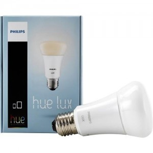Philips 433714 9W A19 Hue LUX White LED Personal Wireless Lighting Single Light Bulb