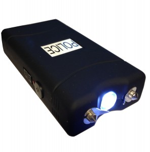 Police 25,000,000V Stun Gun with Flashlight