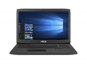 ASUS ROG G751JT-WH71(WX) 17-Inch Gaming Laptop, Nvidia GeForce GTX 970M 3GB DDR5 VRAM, 16 GB RAM, 1 TB HDD (Win 10 Version)