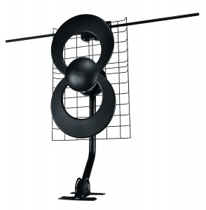 ClearStream 2V IndoorOutdoor HDTV Antenna with Mount - 60 Mile Range