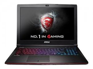 MSI GE62 APACHE-276 15.6 GAMING NOTEBOOK LAPTOP Geforce GTX 960M i7-5700HQ 12GB 1TB