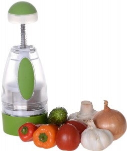 Ohana Magic Food Onion Garlic Chopper Dicer Mincer, Tomato Vegetable Fruit Slicer, Salsa Maker