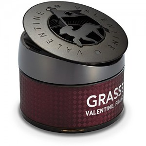 Premium Car Air Freshener [Bulgarian Rose] Bullsone Grasse Valentine - Natural Essential French Oil Scents!