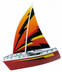 Kid Galaxy Sail Boat, Orange