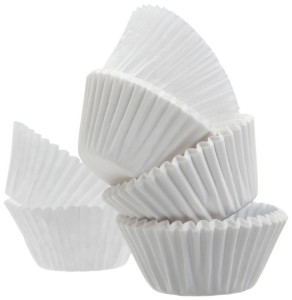 A World of Deals Best Quality Standard Size White Cupcake Paper