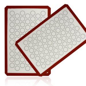 Aprince Silicone Baking Mat Set (2) Non-Stick Cookie Sheet (Silicone Mat 5)