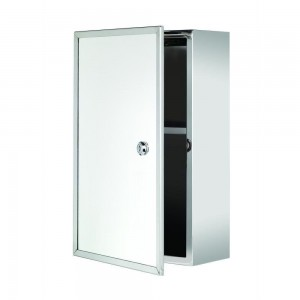 Croydex WC846005YW Trent Lockable Med Cabinet