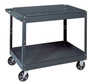 Edsal SC2024 Industrial Gray Commercial Service Cart