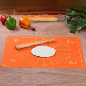 Extra Large Silicone Baking Mat for Pastry Rolling with Measurements(30×40cm) Chef Special,Non Stick,Non Slip,Pizza,Breads,Lasagna