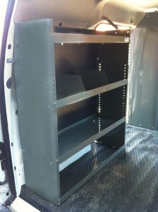 Ford Transit Connect Shelving Storage Unit
