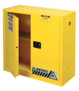 Justrite 893000 Sure-Grip EX Flammable Safety Cabinet