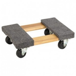 Mover's Dolly 1000 lbs. weight capacity, 18 L x 12-14 W