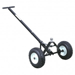 New 600 lbs Heavy Duty Trailer Dolly w Non-Flat Solid Tires