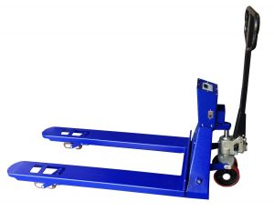 SAGA Pallet Jack Scale 5500lb x 1lb, Pallet Jack With Digital Scale Brand New Pallet Truck Scale
