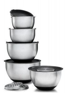 Sagler Stainless Steel Mixing Bowls Set of 5
