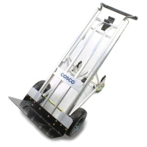 3-in-One MAX 1000 lb Capacity Convertible Hand Truck with Never-Flat tires