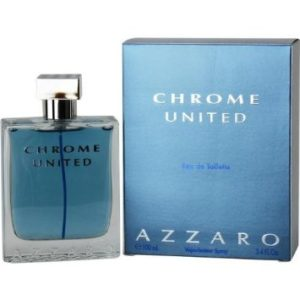 Azzaro Chrome United Eau de Toilette Spray, 3.4 Ounce