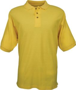 Colorado Timberline Men's Edinburgh Polo Shirt 100% Cotton w Anti-Roll Collar