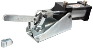 DE STA CO 847-S Standard Pneumatic Hold Down Action Clamp with Solid Bar