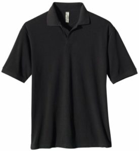 ECOnscious Men's 100% Organic Cotton Pique Polo