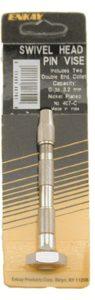 Enkay 407-C Swivel Head Pin Vice, Carded