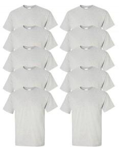 Gildan Men's Ultra Cotton T-Shirt (Pack of 10)