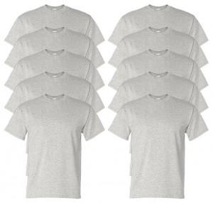 Gildan Men's Wicks Moisture T-Shirt (Pack of 10)