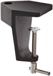 O.C. White 114401-B Replacement Table Edge Clamp for Big EyeVision-LiteStandard Magnilite, Black