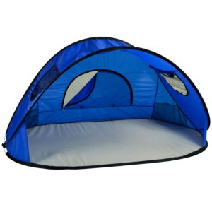 Picnic at Ascot Family Size Instant Easy Up Beach Tent Sun Shelter, Royal Blue
