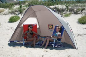 Rio Beach Total Sun Block Shelter Tent (Silver)
