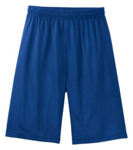 Sport-Tek Men's Big And Tall Long Elastic Waist Mesh Short