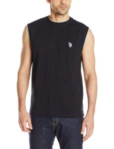 U.S. Polo Assn. Men's Faux Layer Muscle T-Shirt