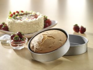 USA Pan Bakeware Aluminized Steel Mini Round Cake Pan, 6-Well