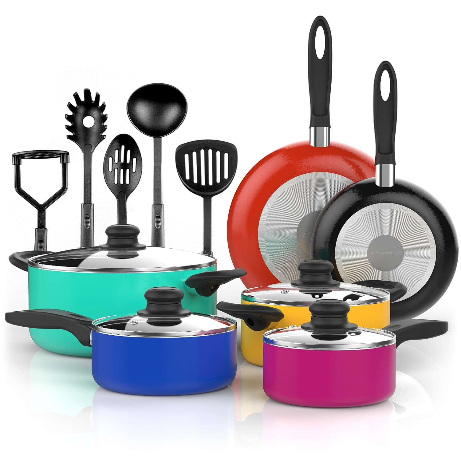 Top 10 Best Cookware Sets In 2018 Reviews