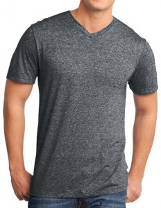 Yoga Clothing For You Mens Microburn V-Neck Tee Shirt