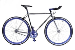 4130 Chromoly Fixed GearSingle SpeedFixie Bike Premium Lightweight with Flip Flop Hub