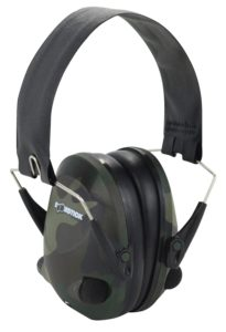 Boomstick Gun Accessories Electronic Folding Earmuff Noise Safety Hearing Protection, Camouflage