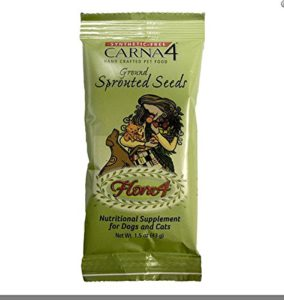 Carna4 Flora4 Ground Sprouted Seeds Food Topper 12 Pack, 1.5-OZ