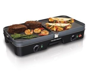 Hamilton Beach 38546 3-in-1 GrillGriddle