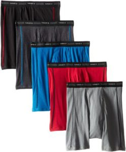 Hanes Men's Sports-Inspired Boxer-Brief (Pack of Five)