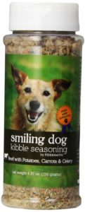 Herbsmith Smiling Dog Freeze Dried Kibble Seasoning with Beef, Potato, Carrot and Celery for Dogs and Cats