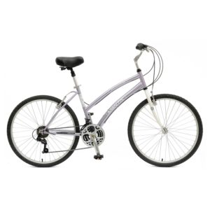 Mantis Premier 726L Comfort Bike, 26 inch Wheels, 17 inch Frame, Women's Bike, Purple