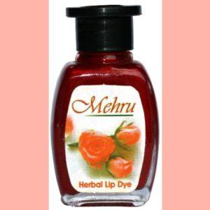 Mehru Lip Stain - Natural Herbal Lip Stain in Various Colors (Sangara)