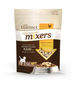 Nature's Variety Instinct Raw Boost Mixers Grain-Free Freeze Dried Meal Toppers for Dogs