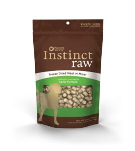Nature's Variety Instinct Raw Grain-Free Freeze Dried Dog Meal or Mixer