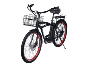 Newport Beach Cruiser Electric Bicycle - Black