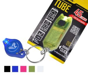 Nitecore Tube T Series 45 Lumens Olive Green USB Rechargeable Key Chain Flashlight with Lumen Tactical Keychain Light