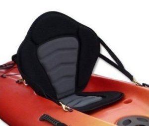 Pactrade Marine Adjustable Padded Deluxe Kayak Seat Detachable Back BackpackBag Canoe Backrest